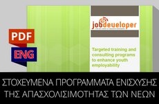 Job Developer Project | Greece:  Information Workshop Presentation [KATHARAKIS]